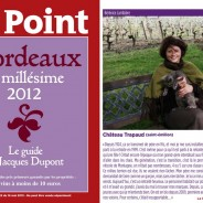 "Awarded a ""Bordeaux Primeur"" coup de cœur by the weekly magazine LE POINT"